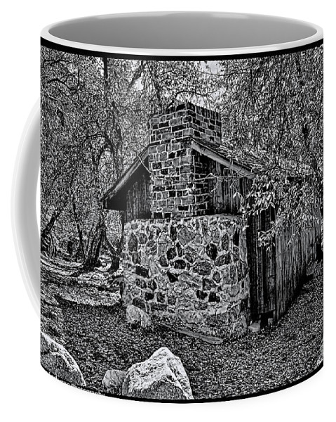 California Coffee Mug featuring the photograph Hidden Cabin by Tommy Anderson