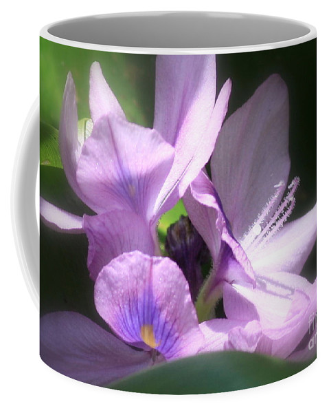 Flower Coffee Mug featuring the photograph Hidden Gem In The Swamp by Carol Groenen