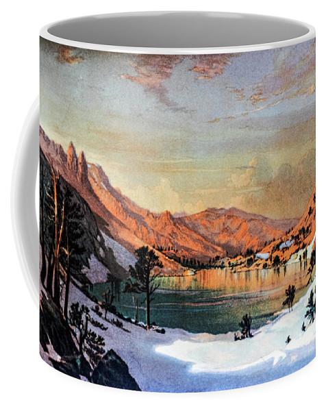 Hidden Coffee Mug featuring the photograph Hidden Lake Western United States by Douglas Barnett