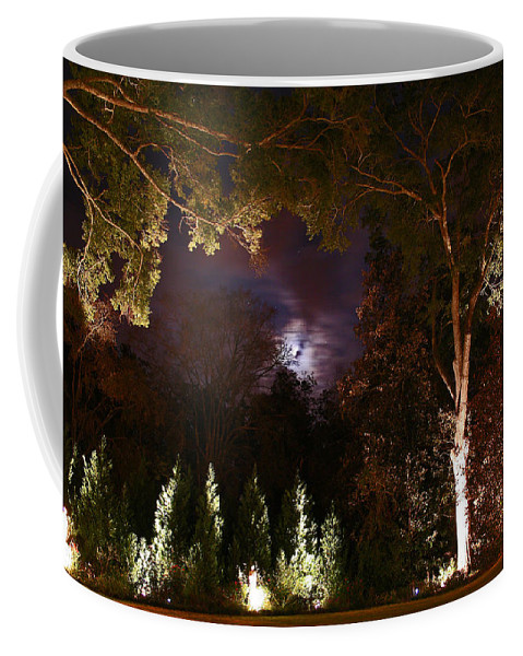 Night Coffee Mug featuring the photograph Higdon House Inn by David Campbell