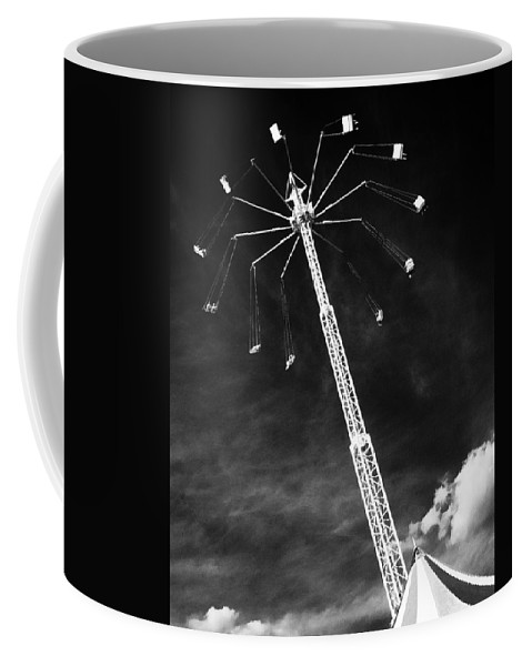 Carnival Coffee Mug featuring the photograph High Flyers by Mitch Spence