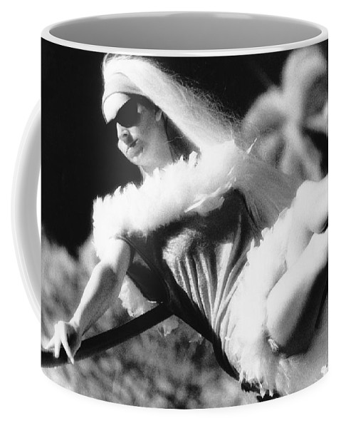 Black And White Coffee Mug featuring the photograph High Heels by Totally Talliesen