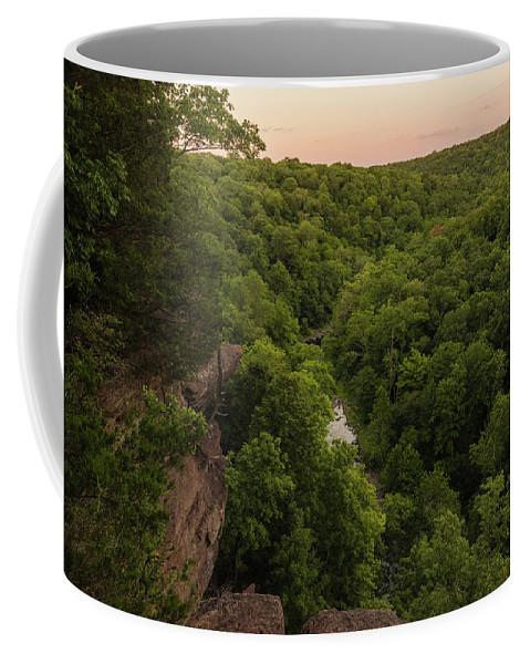 Pennsylvania Coffee Mug featuring the photograph High Rock Vista by Kristopher Schoenleber