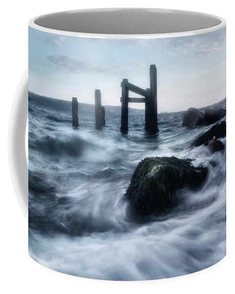 Sea Coffee Mug featuring the photograph High Tide by Joana Kruse