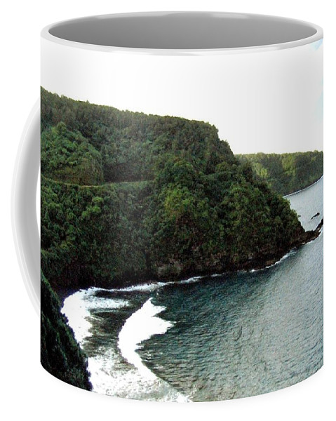 1986 Coffee Mug featuring the photograph Highway To Hana by Will Borden