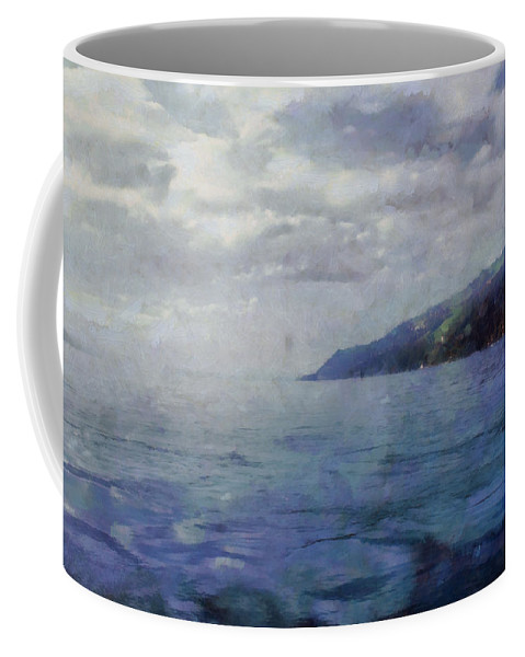 People Coffee Mug featuring the photograph Hill In The Distance by Ashish Agarwal