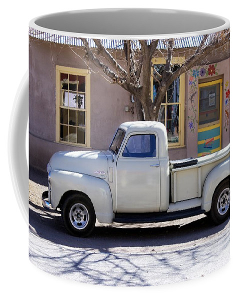 Wall Coffee Mug featuring the photograph Hillsboro New Mexico 1949 Gmc 100 by Barbara Chichester