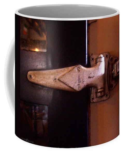 Hinge Coffee Mug featuring the photograph Hinge by Tim Nyberg