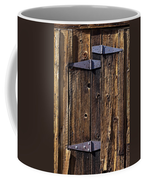 Hinges Coffee Mug featuring the photograph Hinges by Kelley King