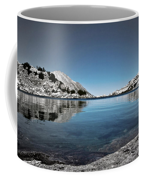 Treasure Lake Coffee Mug featuring the photograph Hint Of Treasure by Chris Brannen