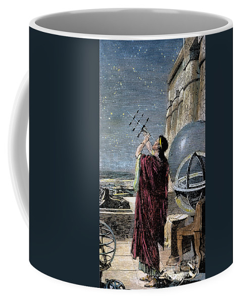 100 B.c Coffee Mug featuring the photograph Hipparchus (146-127 Bc) by Granger