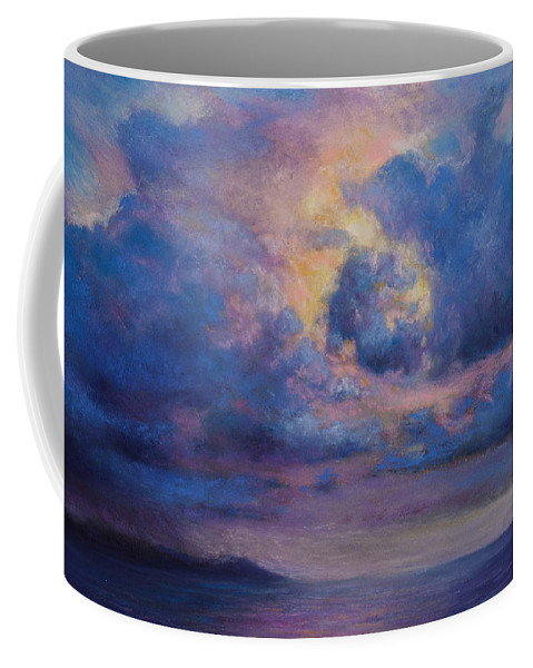 Landscape Coffee Mug featuring the pastel His Glory by Susan Jenkins