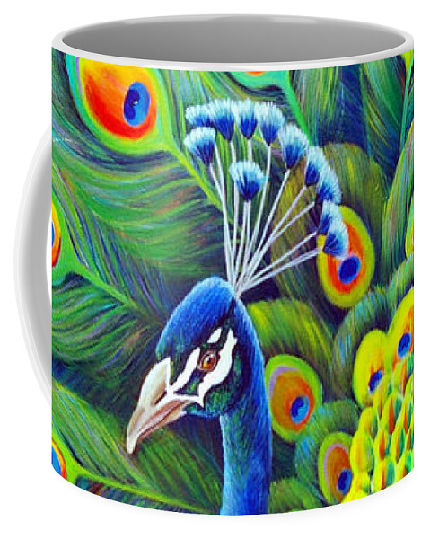 His Splendor Coffee Mug featuring the painting His Splendor by Nancy Cupp
