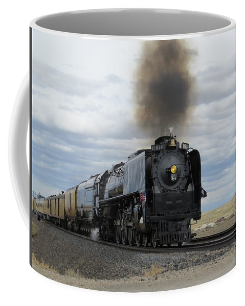 Historic Steam Engine Coffee Mug featuring the photograph Historic 844 by Christi Chapman