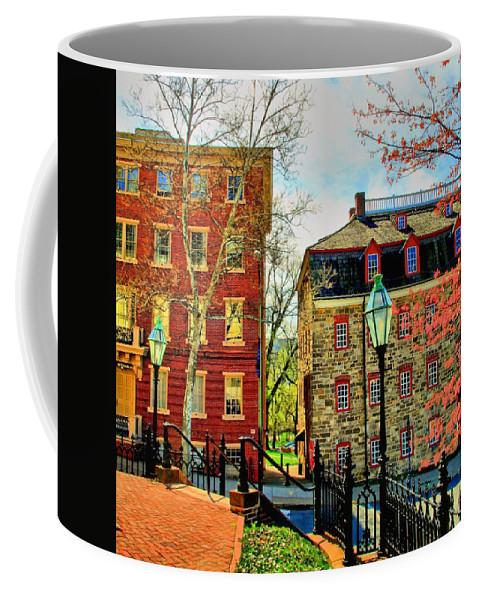 Bethlehem Coffee Mug featuring the photograph Historic Intersection by DJ Florek