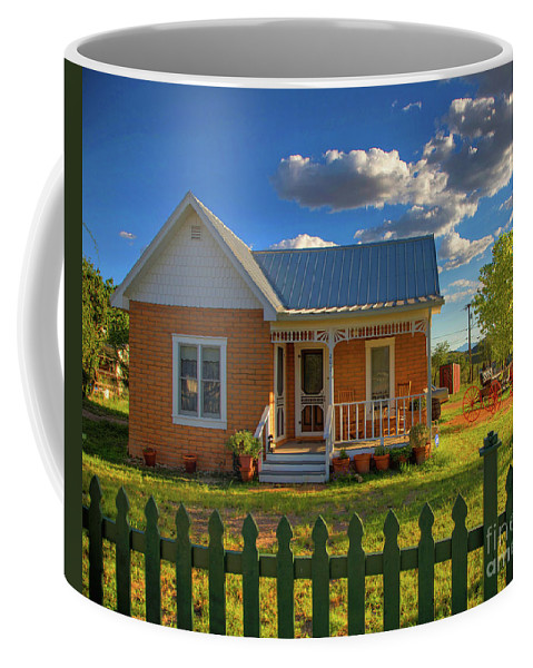 Landscape Coffee Mug featuring the photograph Historic Tombstone In Arizona by Charlene Mitchell