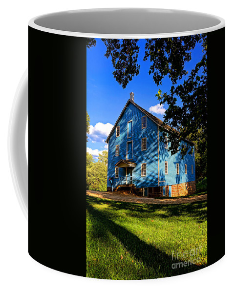 Walnford Coffee Mug featuring the photograph Historic Walnford Gristmill by Olivier Le Queinec
