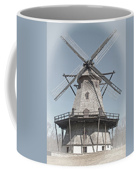 Windmill Coffee Mug featuring the photograph Historic Windmill by Ann Horn