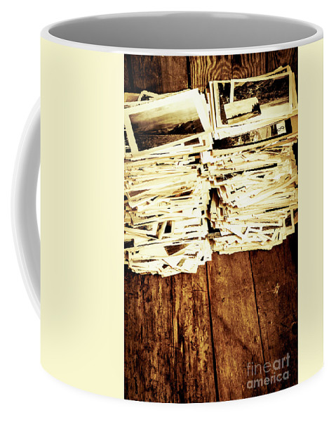 Photographs Coffee Mug featuring the photograph History In Photos by Jorgo Photography - Wall Art Gallery