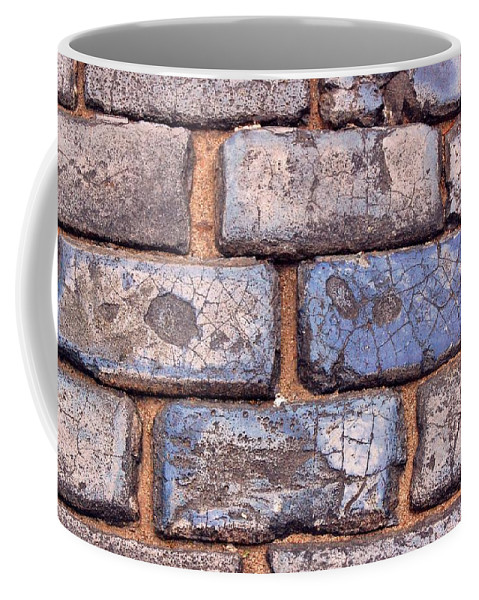 Street Coffee Mug featuring the photograph Hit The Bricks by Debbi Granruth