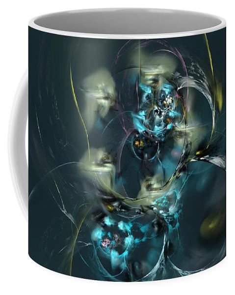 Fantasy Coffee Mug featuring the digital art Hive by David Lane