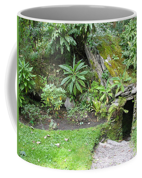 Hobbit Coffee Mug featuring the photograph Hobbit Home by Kelly Mezzapelle