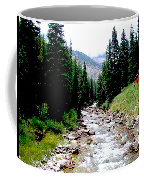 Hobock Coffee Mug featuring the photograph Hobock Canyon by Terry Anderson