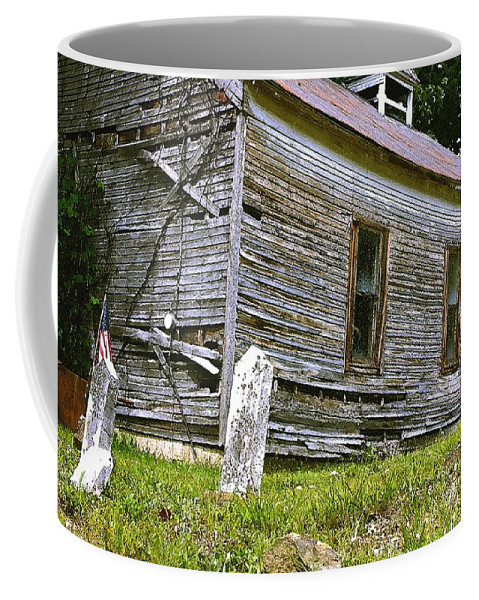 Church Coffee Mug featuring the photograph Hocking Hills Church by Nelson Strong