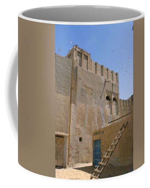Hofuf Coffee Mug featuring the photograph Hofuf Alley by Jerry McElroy