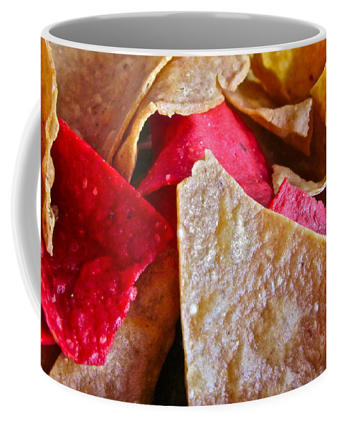 Photograph Of Chips Coffee Mug featuring the photograph Holiday Chips by Gwyn Newcombe
