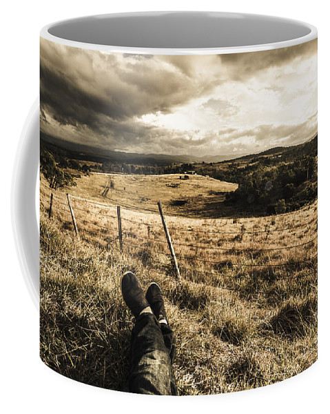 Holiday Coffee Mug featuring the photograph Holiday In Tasmania by Jorgo Photography - Wall Art Gallery