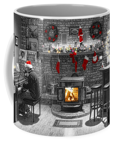 Holidays Coffee Mug featuring the photograph Holiday Spirit Magic by James BO Insogna