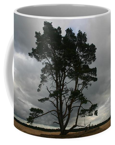 Storm Coffee Mug featuring the photograph Holland Desert by Minaz Jantz