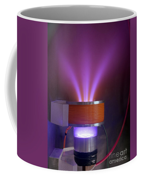 Science Coffee Mug featuring the photograph Hollow-anode Nitrogen Plasma Source by Science Source