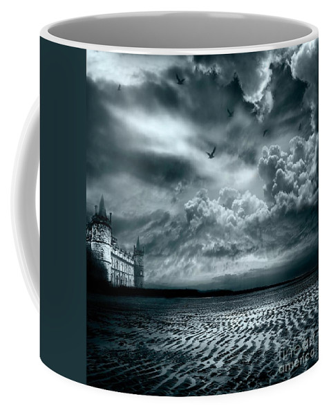 Beach Coffee Mug featuring the photograph Home by Jacky Gerritsen