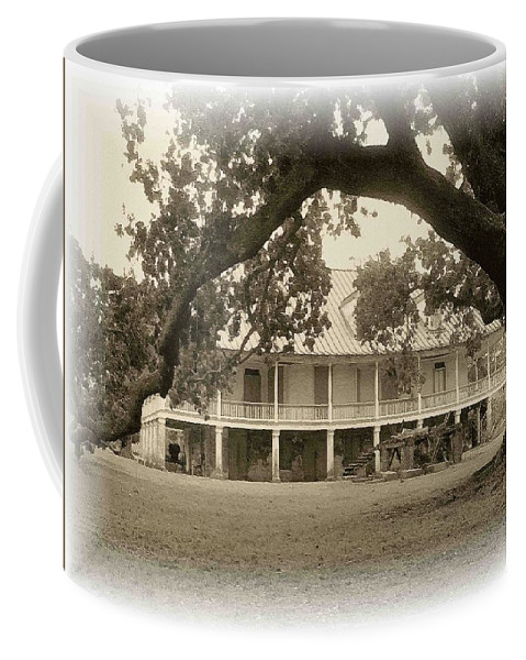 Plantation Coffee Mug featuring the photograph Home Place Impressions by Nelson Strong