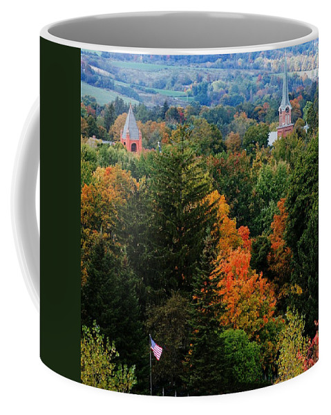 Landscape Coffee Mug featuring the photograph Homer Ny by David Lane