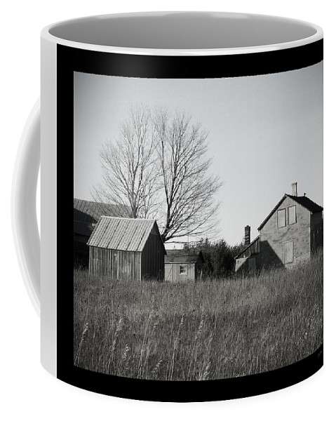 Deserted Coffee Mug featuring the photograph Homestead by Tim Nyberg