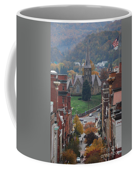 Cumberland Coffee Mug featuring the photograph My Hometown Cumberland, Maryland by Eric Liller