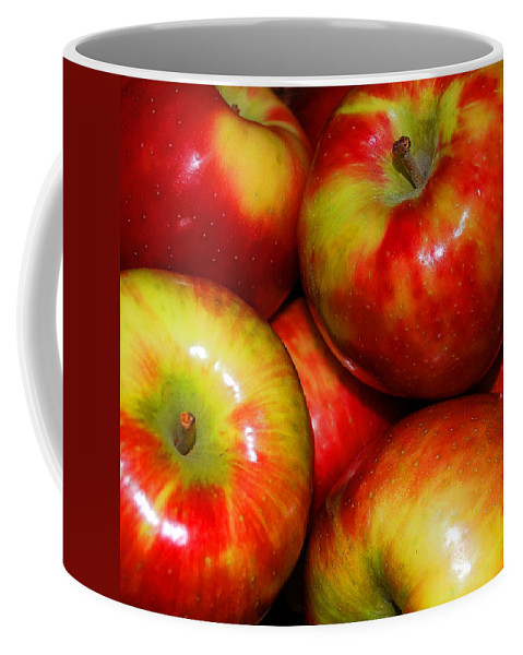 Apple Coffee Mug featuring the photograph Honeycrisp Apples by Nancy Mueller