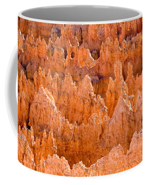 Canyons Coffee Mug featuring the photograph Hoodoos And Other Eroded Cliffs Light by Taylor S. Kennedy