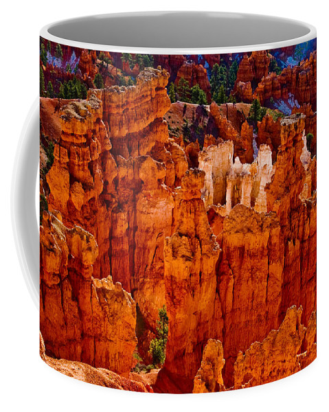 Bryce Canyon Coffee Mug featuring the photograph Hoodoos Bryce Canyon by James BO Insogna