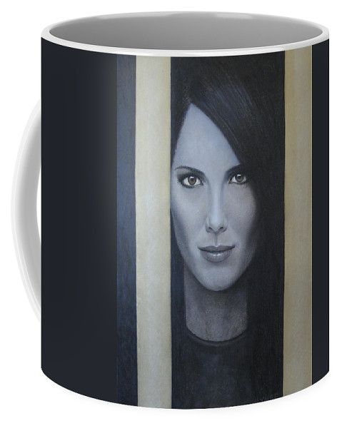 Hope Coffee Mug featuring the painting Hope by Lynet McDonald