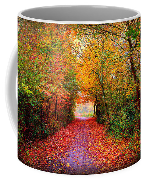 Autumn Coffee Mug featuring the photograph Hope by Jacky Gerritsen