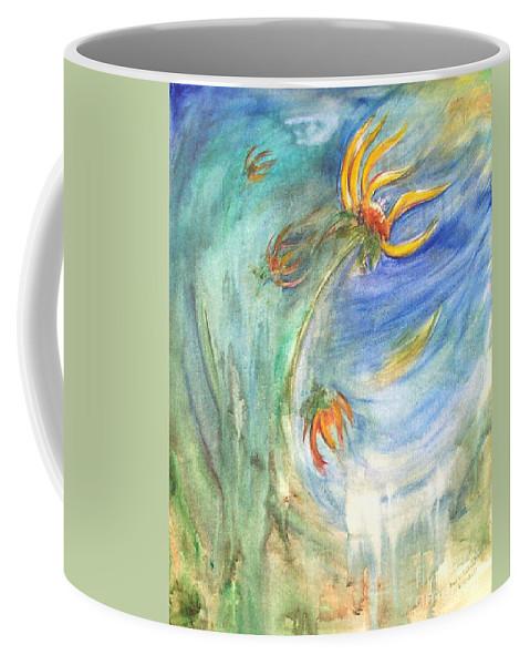 Hope Coffee Mug featuring the painting Hope by Sheri Lauren
