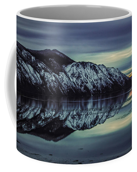 Landscape Coffee Mug featuring the photograph Hope Sunset by Josh Smith Photography