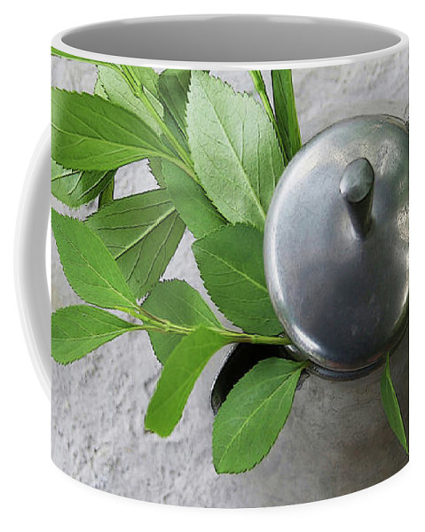 Pewter Pot Coffee Mug featuring the photograph Hope by Yvonne Wright