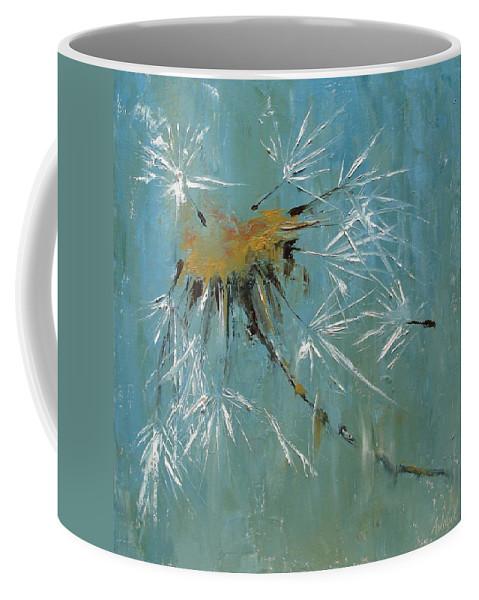 Plants Coffee Mug featuring the painting Hopes by Barbara Andolsek