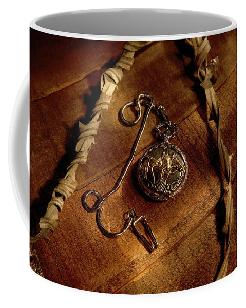 Pocket Watch Coffee Mug featuring the photograph Horse In My Pocket by Daniel Alcocer