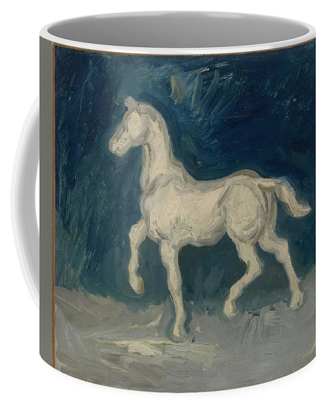 Art Coffee Mug featuring the painting Horse Paris, June 1886 Vincent Van Gogh 1853 1890 by Artistic Panda